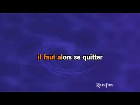 Karaoké Derniers baisers - C. Jérôme *