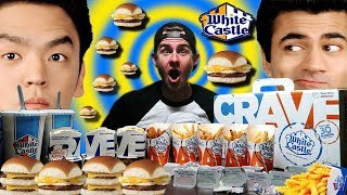 SUPERSIZED HAROLD & KUMAR WHITE CASTLE CHALLENGE! (12,000+ CALORIES)