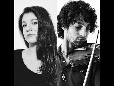 JOHANNES BRAHMS - Violin Sonata op.78 - I (Giovanni Agazzi, Margherita Santi)