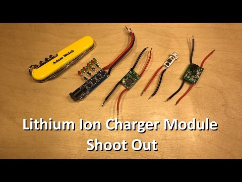 High(er) Power Lithium Ion Charger Module Shoot Out - 12v Solar Shed