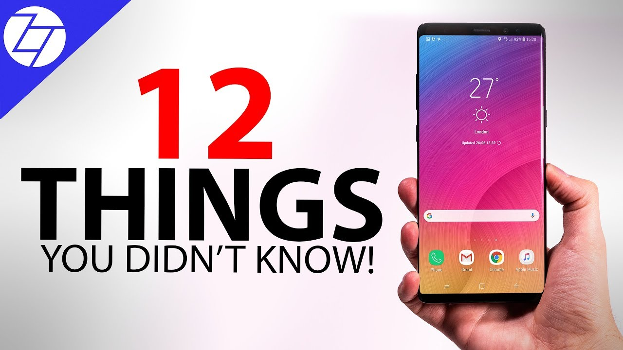 Samsung Galaxy Note 9 - 12 Things You Didn't Know!