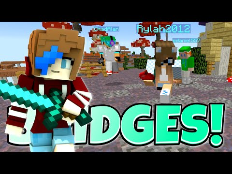 MINECRAFT the BRIDGES | G to the G | GAMER CHAD & RADIOJH GAMES