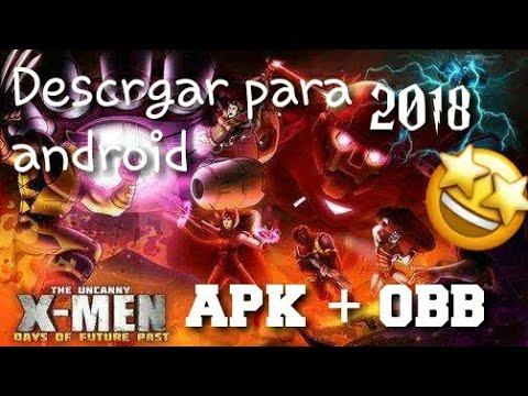 Instala Increible Juego De X Men Dias Del Futuro Pasado Juego