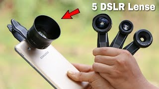 5 SmartPhone DSLR LENS | Make Your Mobile Camera Like DSLR ✅ NEW TECHNOLOGY COOL GADGETS