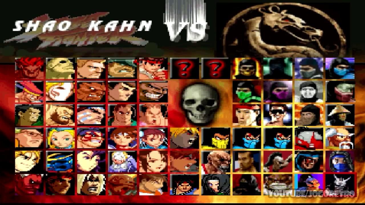 Mortal Kombat Vs Street Fighter Mugen Youtube