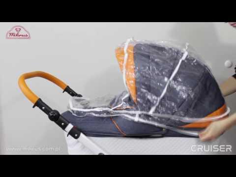 Детская универсальная коляска Mikrus Cruiser