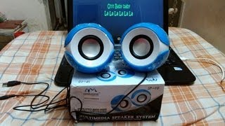 Ambrane SP-10 Portable speakers Unboxing Review