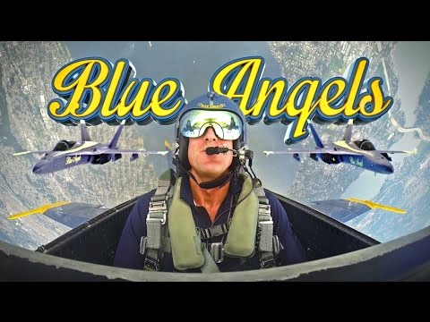Being Inside A Blue Angels Cockpit Is Even Cooler