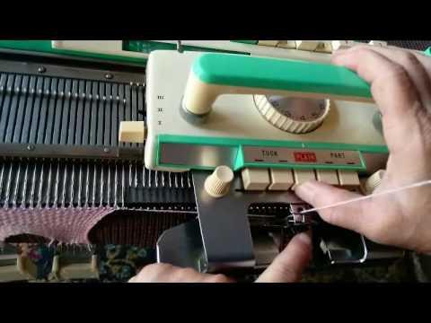 8 button Brother Knitting machines 5 Pattern knitting ...