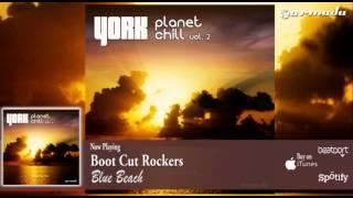 Boot Cut Rockers - Blue Beach