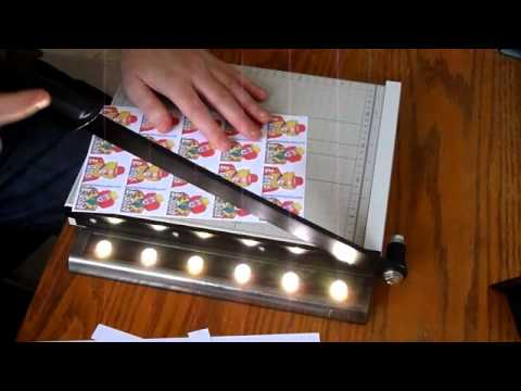 make a laminated business or hobby card - How To Laminate Cards