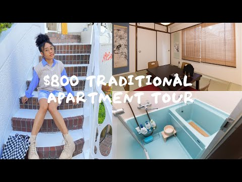 My $800/month Japanese Apartment Tour As A 22 Year Old
