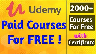 Get Udemy courses for free 2020 [Hindi] | How to purchase udemy courses for free | Udemy coupon