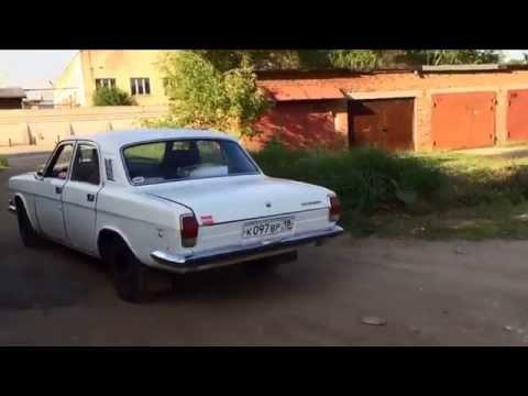 ГАЗ 24 V8 4,3л ЗМЗ 53 Первый выезд - GAZ ROD Гараж