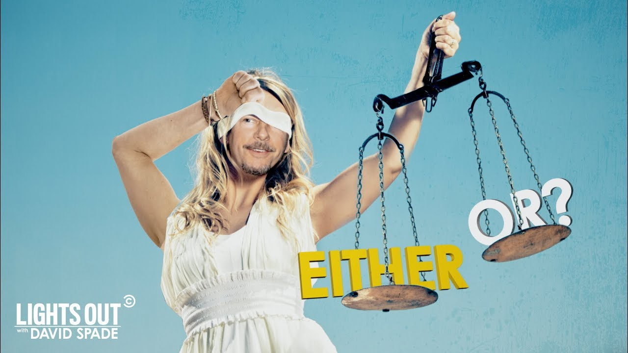 """Either Or"" Is the Newest Instagram Game Show – Lights Out with David Spade"