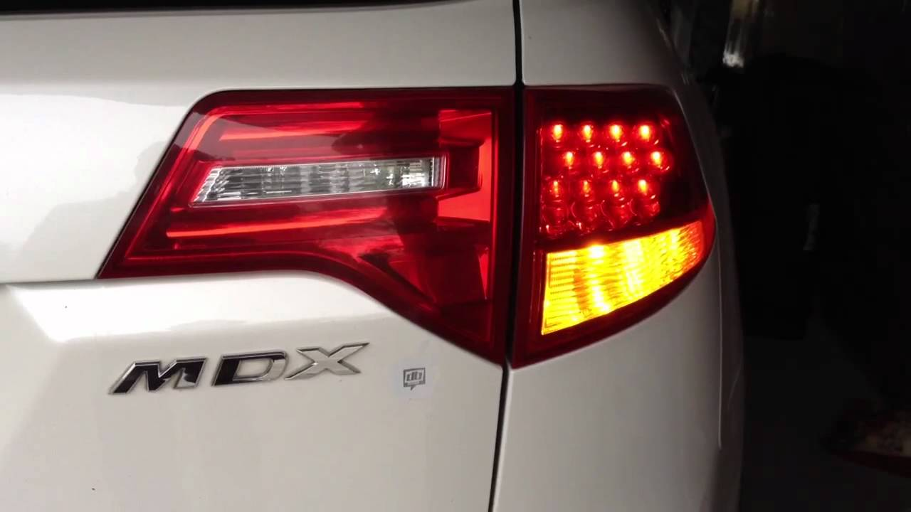 Acura MDX Rear Euro Turn Signals - YouTube