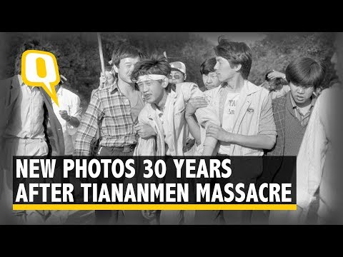 30 Years After Tiananmen Massacre, Rare New Photographs Released | The Quint