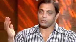 Sachin Tandulkar Feel fear from Shoaib Akhtar