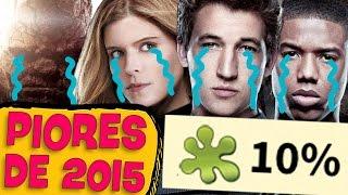 10 piores filmes de 2015