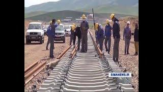 Iran Tehran to Hamadan to Sanandaj railway, Under construction راه آهن تهران همدان سنندج