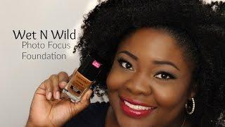 Wet N Wild PhotoFocus Foundation Demo First Impressions | Dark Skin