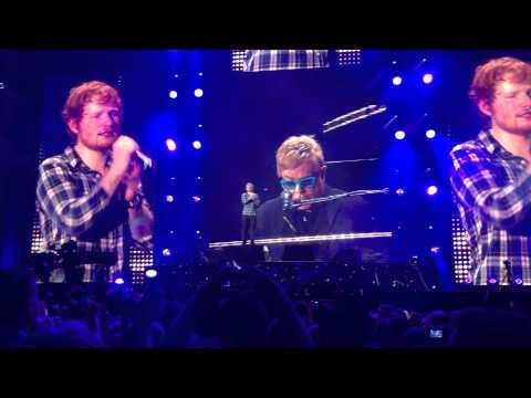 Afire Love (feat. Elton John) [Live] - Ed Sheeran @ Wembley Stadium (10/07/15)