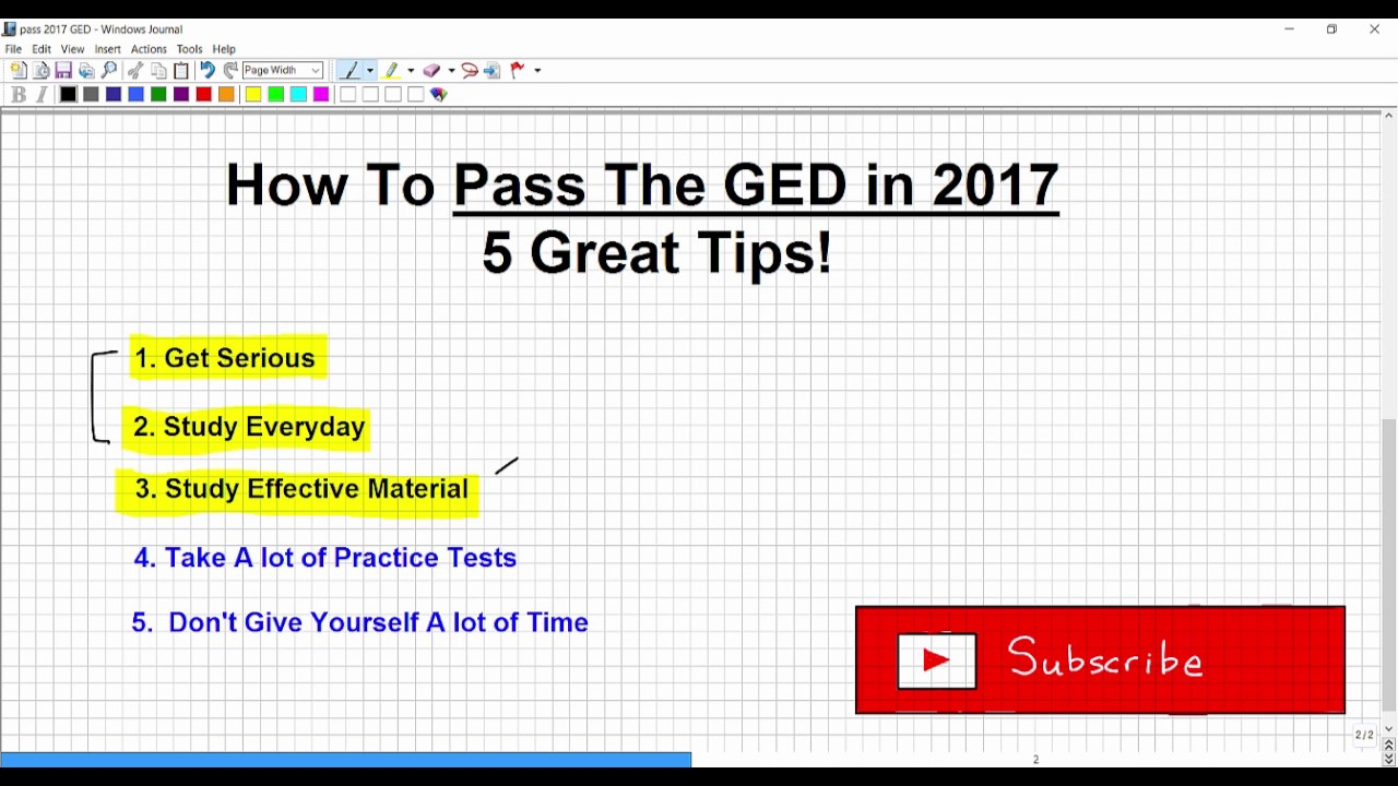 ged writing tips Hints for writing on the ged exam hints and tips for test day specified to the ged writing section the florida literacy coalition thanks the florida.