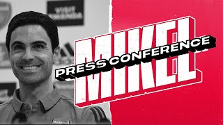 PRESS CONFERENCE | Mikel Arteta unveiled as new Arsenal head coach