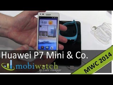 Huawei G6 alias Ascend P7 Mini, Media Pad X1 und Talk Band im Test