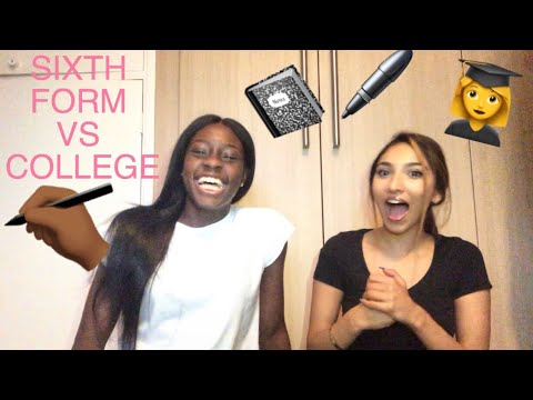 SIXTH FORM VS. COLLEGE || FREEDOM, WORKLOAD, UNIFORM