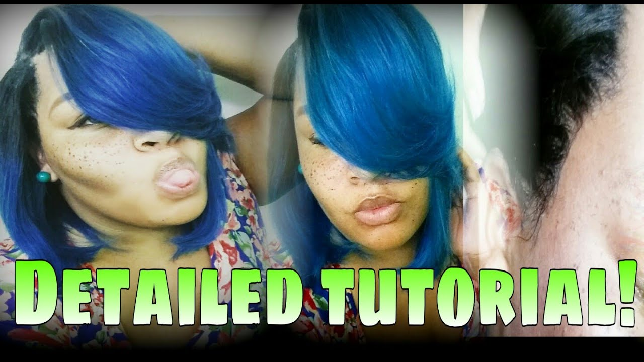 Illusion Hairline Quick Weave No Leave Out Bump A