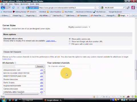 How To Retrieve Your Adsense Codes.wmv