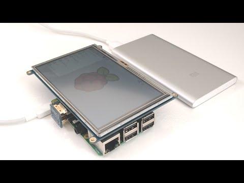 How to setup an lcd touchscreen on the Raspberry Pi - portable Raspberry Pi 3