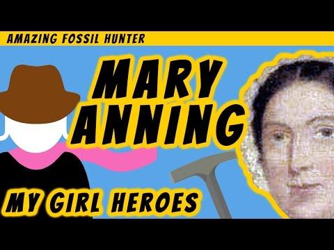 Mary Anning, My Girl Hero Rocker!