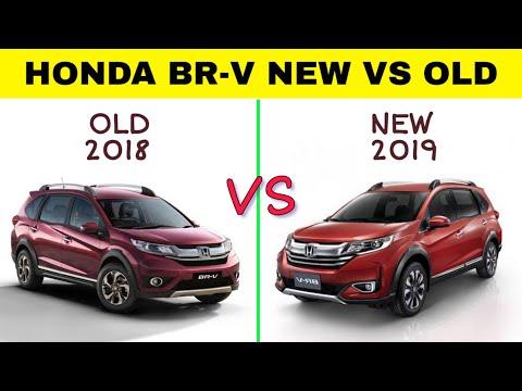 Honda BR-V 2018 VS 2019 | Comparison.