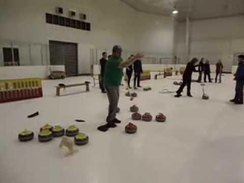 Curling Demonstration at Cincinnati Curling Club
