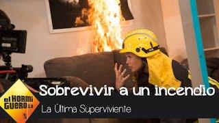 Patricia Montero nos enseña cómo sobrevivir a un incendio - El Hormiguero 3.0