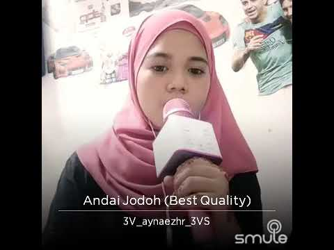Chomel - Andai Jodoh Best Smule Cover by Adek Aynaezhar