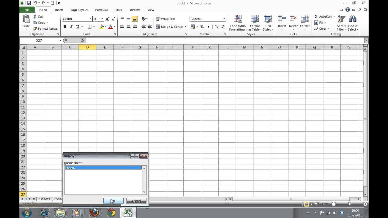 worksheet Unhide Worksheet Excel 2013 how to hide and unhide worksheets in excel 2010 youtube 2010