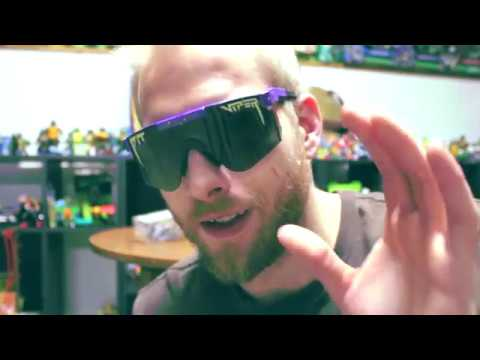 20867cd009 Pit Viper Sunglasses Donatellos Review - YouTube