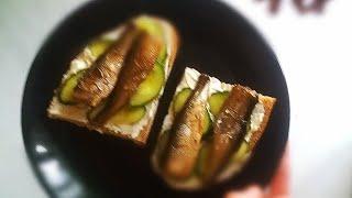 Простые рецепты. Рецеп бутербродов со шпротами. Готовим теперь только так. Рецепты уДимаса