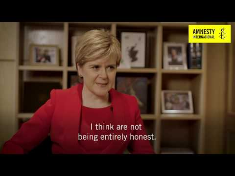In conversation with Nicola Sturgeon