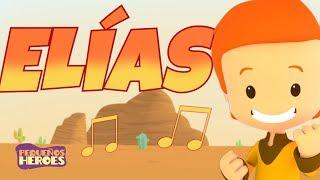 ELIAS | PEQUEÑOS HEROES 🎤🔥 - Cancion Nueva Infantil Cristiana - Los profetas de Baal