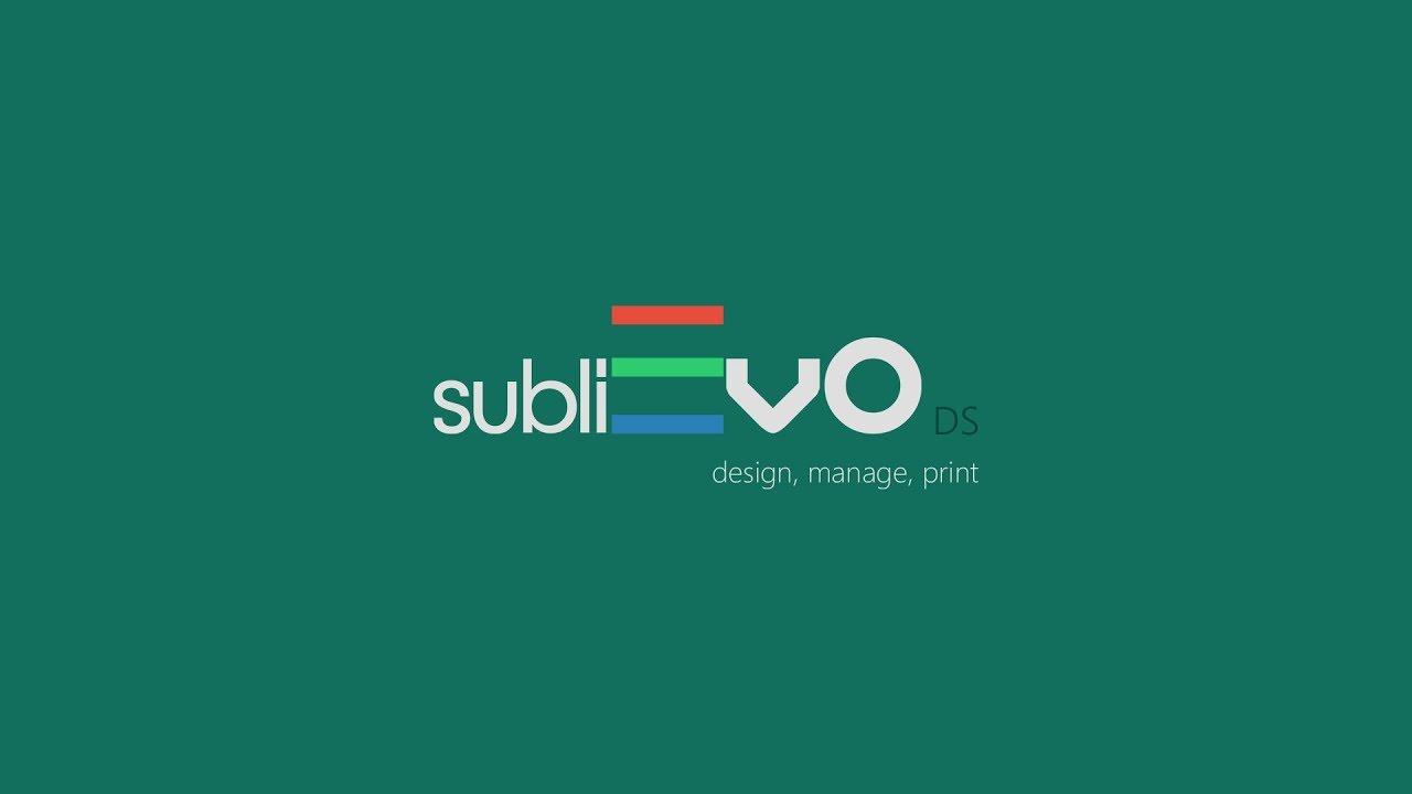 subliEVO sublimation software sublimación sawgrass sublisplash unisub