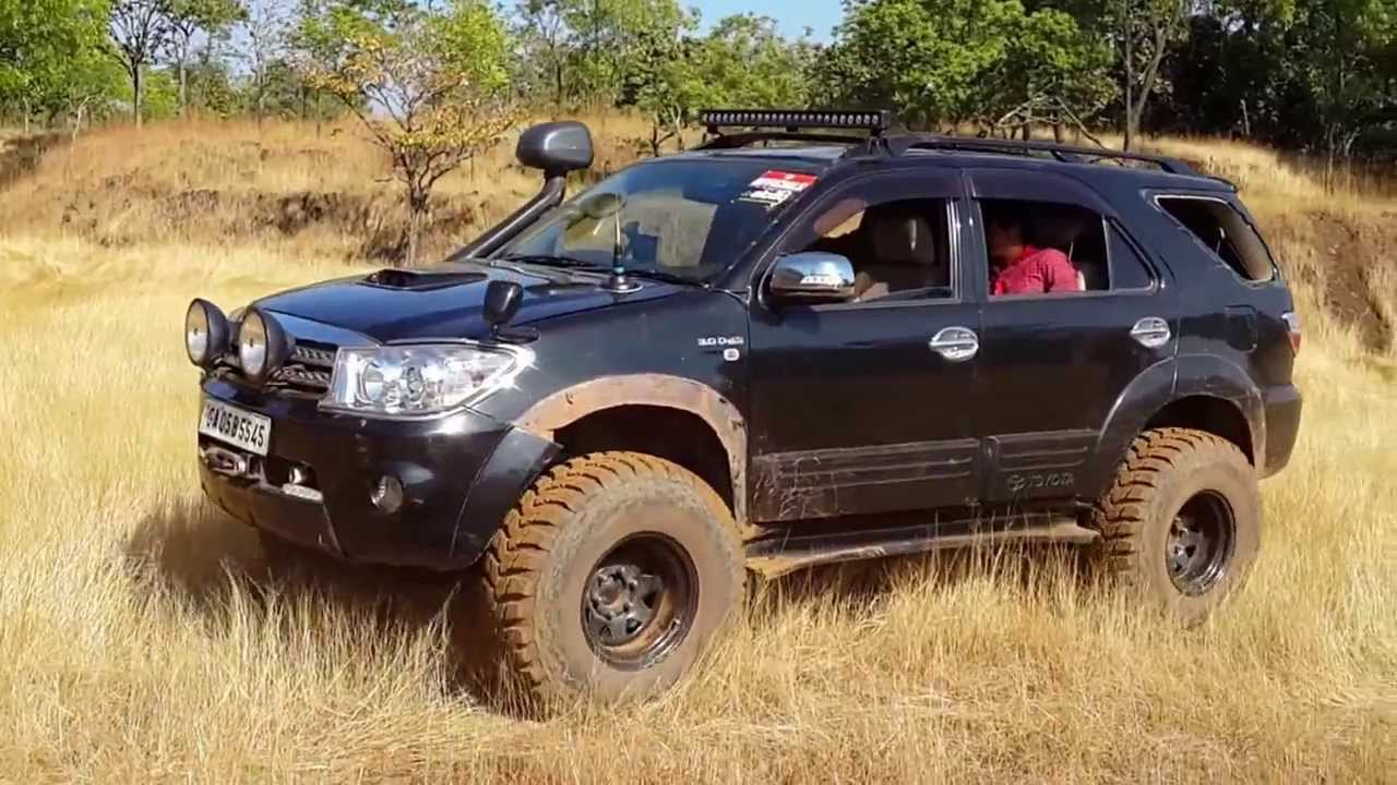 Fortuner 35 Quot Tyre Test Youtube