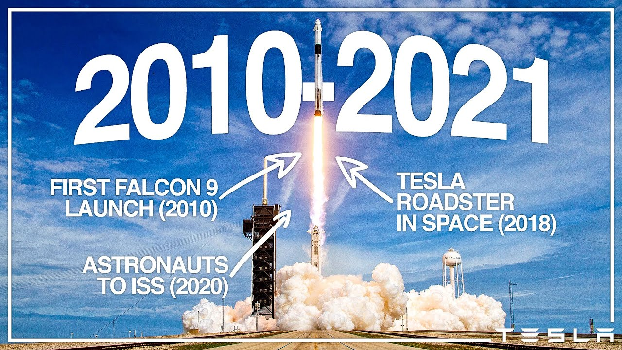 Every SpaceX Launch Ever (2010 -  2021)
