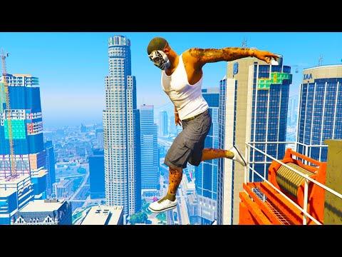 GTA 5 Funny/Crazy Jumps Compilation #15 (GTA 5 Fails Funny Moments)