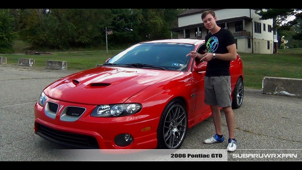 Review: Modified 2006 Pontiac GTO