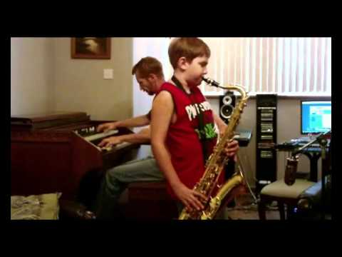 Fly me to the moon tenor sax