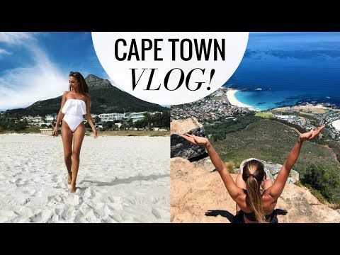 CAPE TOWN, SOUTH AFRICA TRAVEL VLOG! | Annie Jaffrey